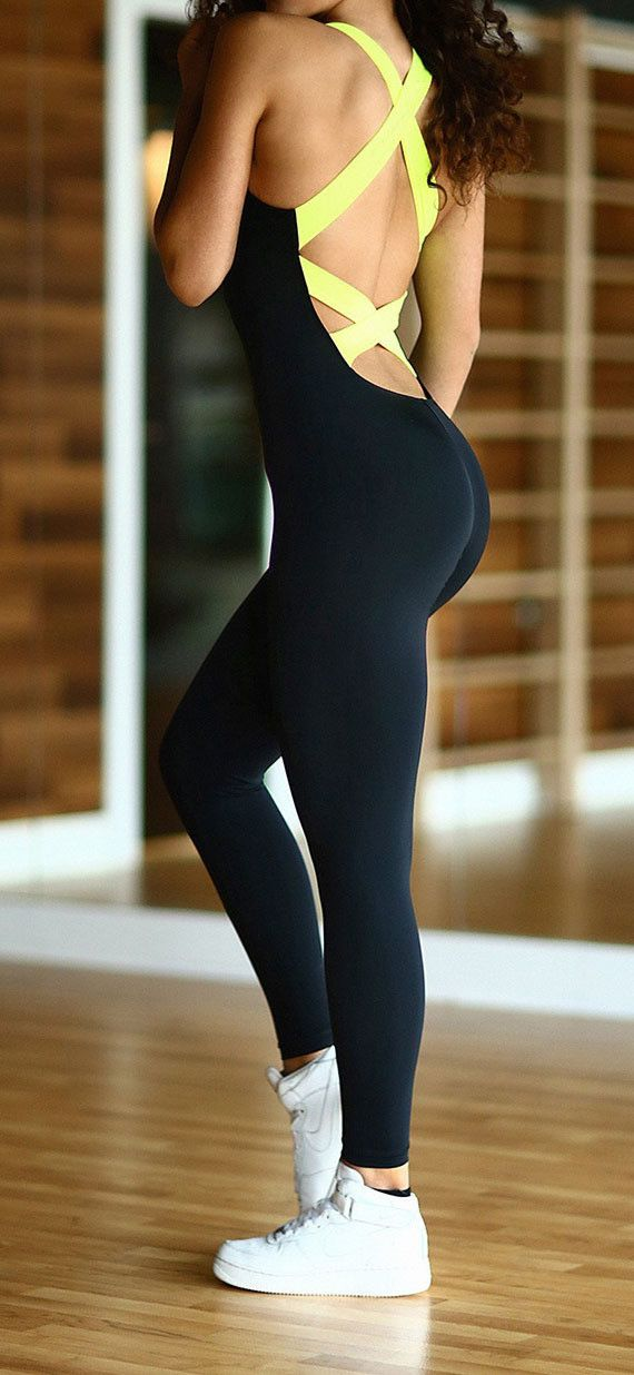 When you do sports or do yoga,you do need an elastic suits like,which can show your perfect figure and make you look much slimmer,back cross design also shows your sexy back,get one you like. Material