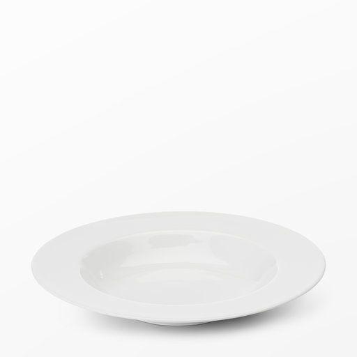Pastatallrik Bon, Ø27 cm, vit