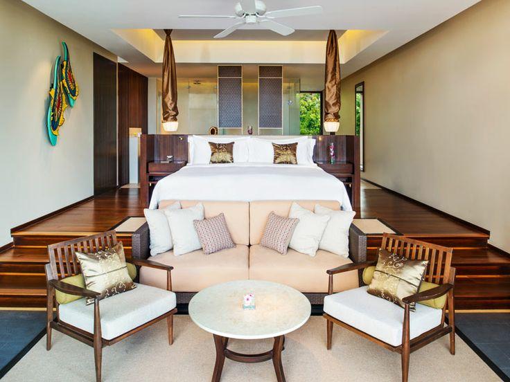 Pool Suite interior at Vana Belle, Thailand  www.islandescapes.com.au