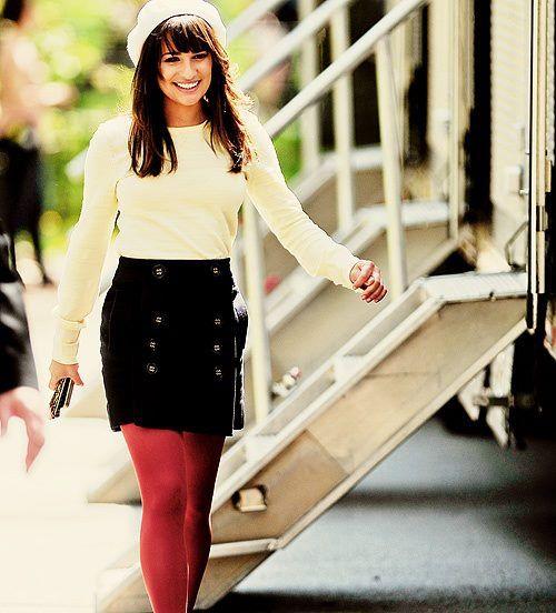 Lea Michele: Rachel Berry's style