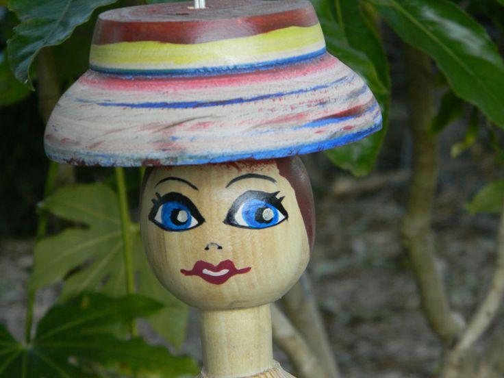Marionnette en bois - SATRIANOCREATIONS - Fabrication Française