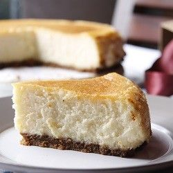 A simple but luscious and very delicious cheesecake.