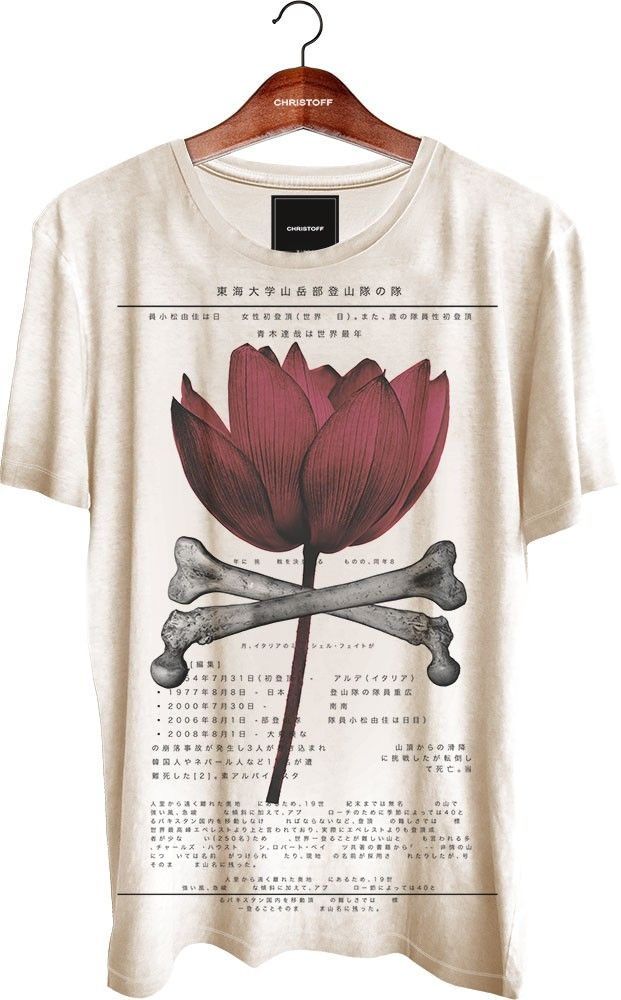 #TEE #TSHIRT but u could do like also a vintage pic of a plant ....and then the whole description.. specification..