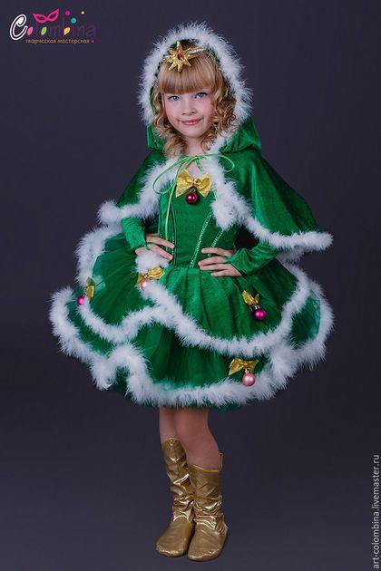 Купить или заказать Костюм ёлочки в интернет-магазине на Ярмарке Мастеров. карнавальный костюм ёлочки для девочки комплектация: платье, перчатки, накидка, диадема 134-146+300 рублей сапожки продаются…
