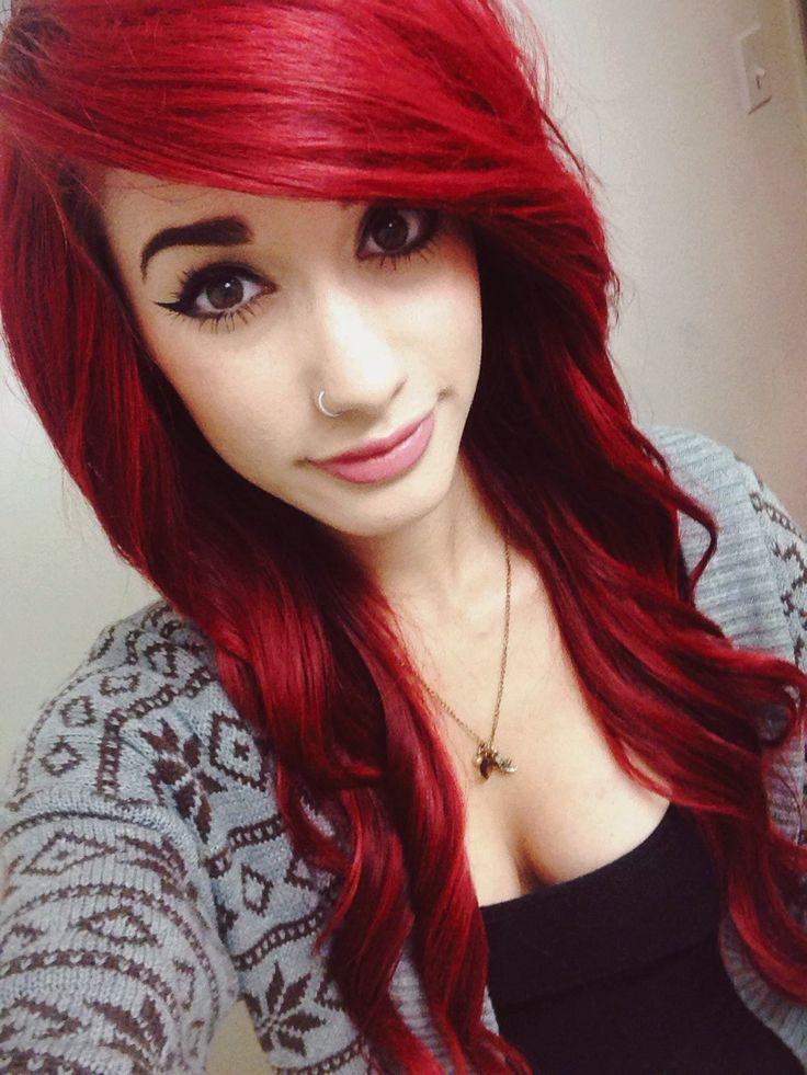 Sexy Dark Red Hair Www Pixshark Com Images Galleries