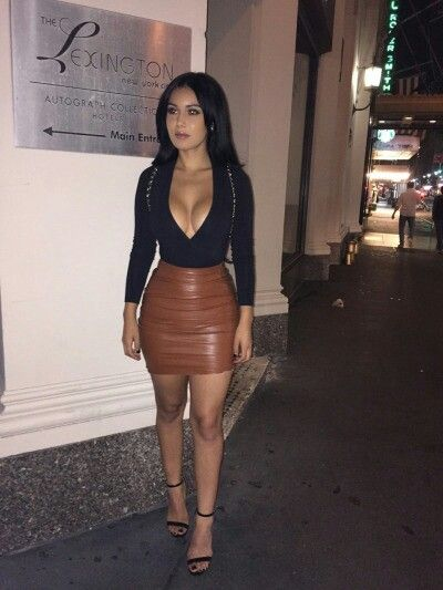 2928 best Trends - Leather Skirts images on Pinterest