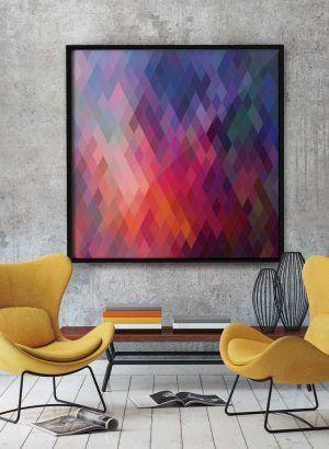 quadros decorativos geometricos