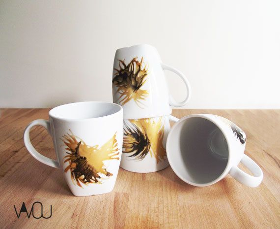 Mug Set 1 by VAVOUhandythings on Etsy