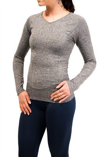 футболка с длинным рукавом для утренней пробежки или для активной тренировки на свежем воздухе. Купить спортивную одежду B'Fit в Киеве