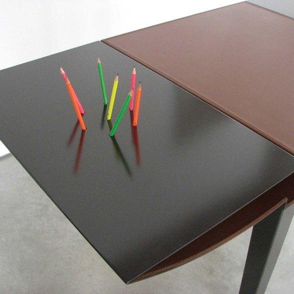 Design Desk Leather and Steel, Desk SS Dima art& design. Interior design desk