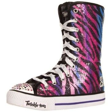 sketchers twinkle toe boots. cute shoes but hate sketchers twinkle toes toe boots n