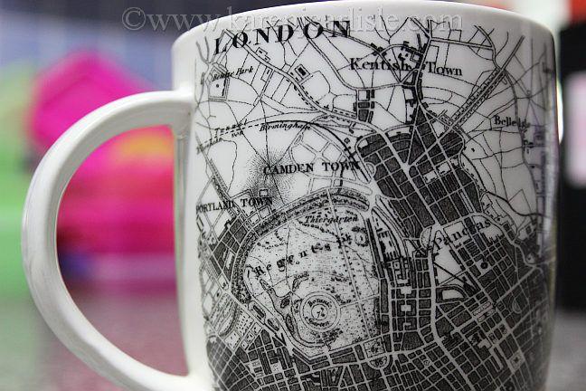 Day 9: London Mug photo copyright 2016 Karen Carlisle.