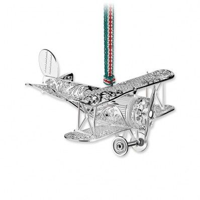 A beautiful Model Airplane for your Christmas Tree <3 Available at www.standun.com