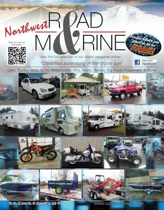 Road and Marine Digital Magazine Vol 17 #13  Classified advertising in the digital age. Automotive, Equipment, Motosport, RV, Trailers, and more. Free listings for private party ads.