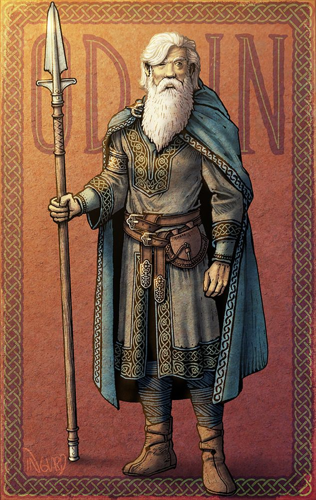 What The Norse Gods Really Looked Like Probably Odin Now I Love The Mcu Thor And Company As Much As The Next Guy Bu Norse Odin Norse Mythology Norse Pagan