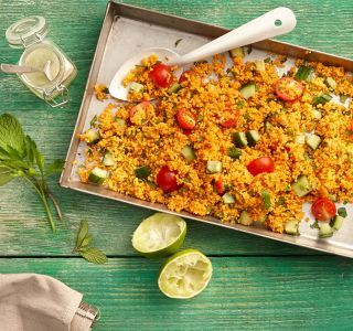 Schneller Couscous-Salat