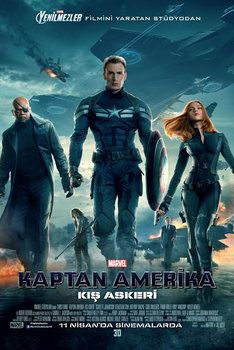 Kaptan Amerika Kış Askeri - Captain America The Winter Soldier 2014 hd film izle