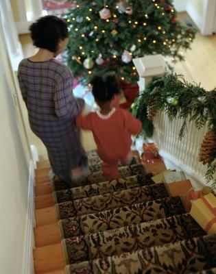 Stair runners, usually sold by the running foot or yard, can be 22 to 36 inches wide. To calculate the length of the staircase for a runner, you need to measure the depth of the stair tread and the ...