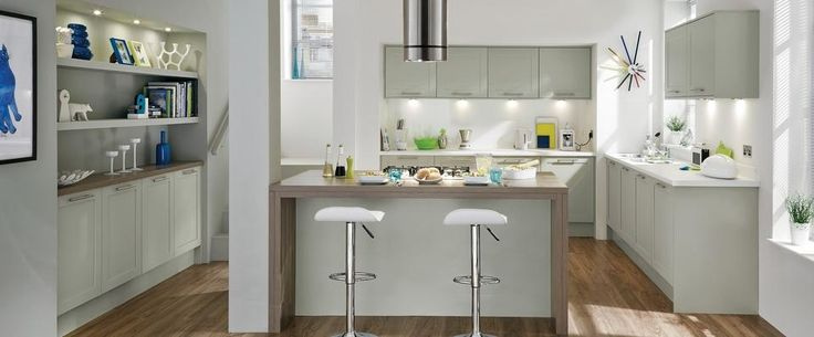 Greenwich Shaker Grey Kitchen Range   Kitchen Families   Howdens Joinery