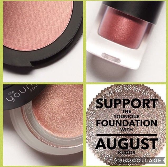 I will be supporting the Younique Foundation, how about you? All proceeds are going to the Younique Foundation Thanks for your support https://www.youniqueproducts.com/brittnidygos