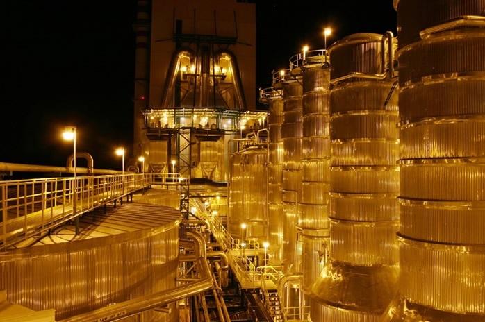 Santa Fe Celulose Pulp Plant, Nacimiento Chile