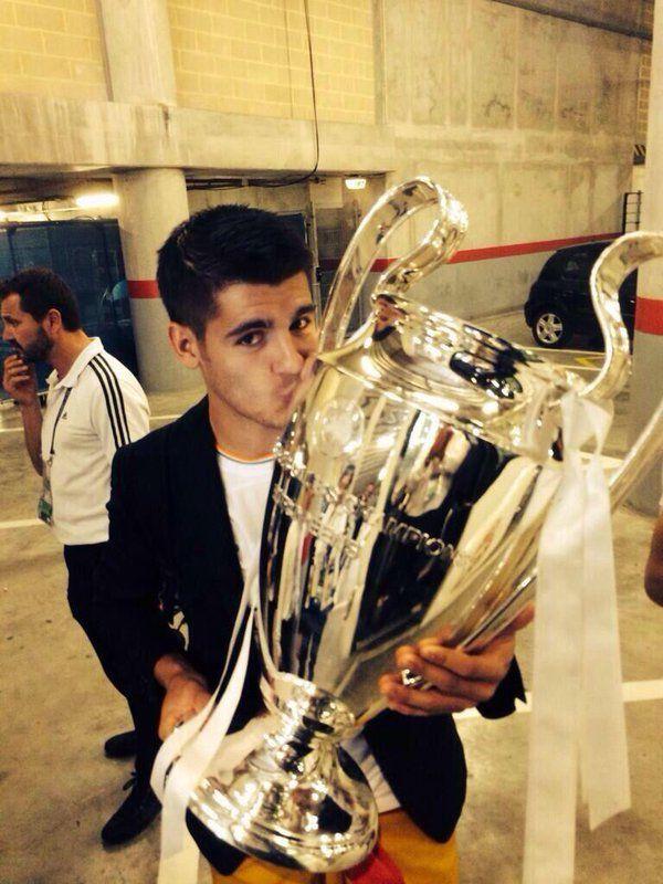 Alvaro Morata Real Madrid la decima