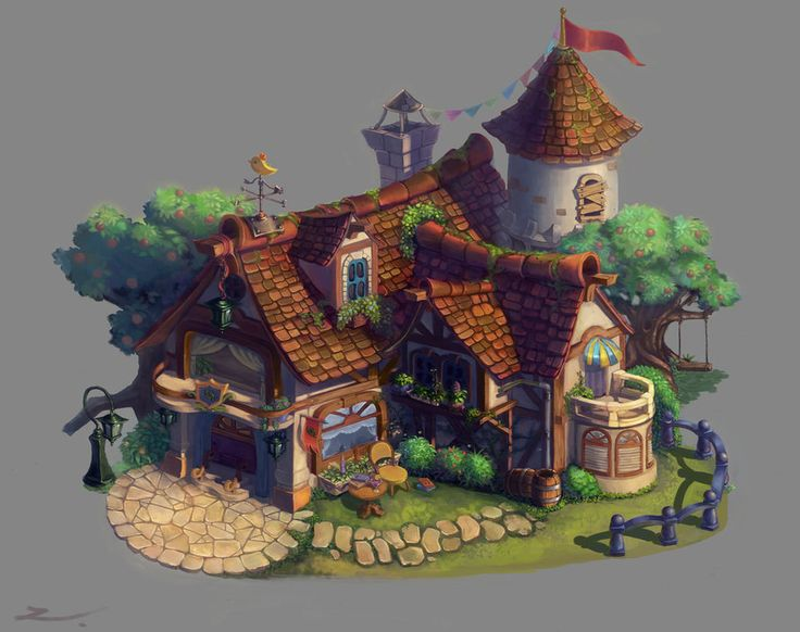 cottage_Colour by Jiazhu