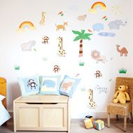 JoJo Maman Bebe Giant Animal Themed Wall Stickers   £15.00 Part 38
