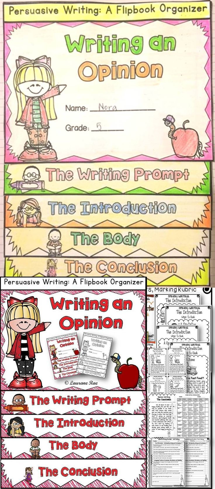 Adhering to structure specific to a writing genre is necessary to generate a cohesive whole. This flipbook will scaffold the structural components of an opinion piece at every stage of the writing process. $