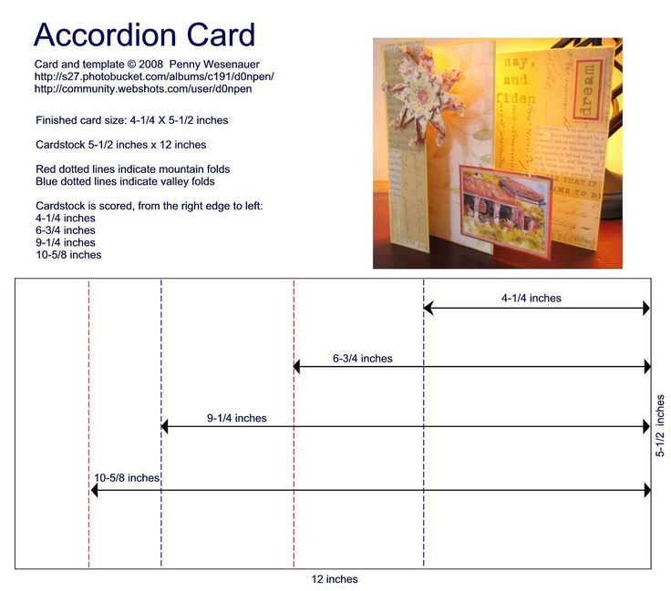 Accordion Card Template Photo:  This Photo was uploaded by d0npen. Find other Accordion Card Template pictures and photos or upload your own with Photobu...