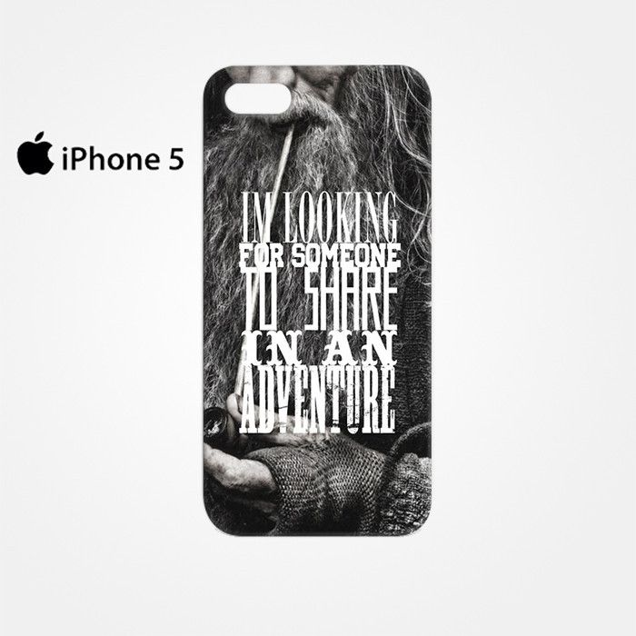 The Hobbit Gandalf Quote for Iphone 4/4S Iphone 5/5S/5C Iphone 6/6S/6S Plus/6 Plus 3D Phone case