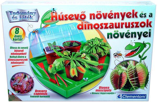 Vásárlás: Clementoni Húsevő növények és a dinoszauruszok növényei (645589) Tudományos és ismeretterjesztő játék árak összehasonlítása, Húsevő növények és a dinoszauruszok növényei 645589 boltok