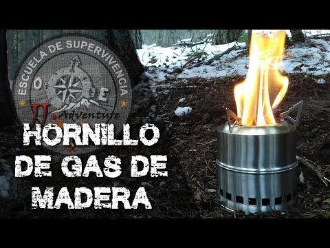 wood stove review and test / hornillo de gas de madera  revisión y prueb...