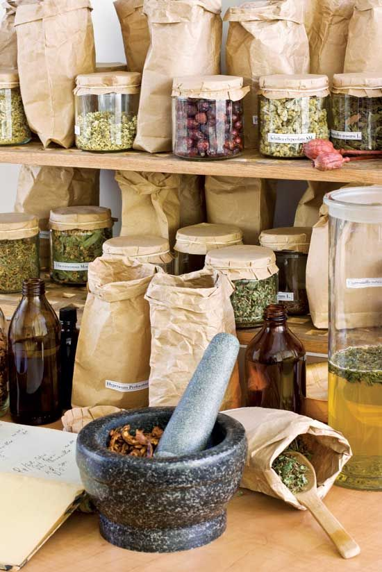 Make Homemade Herbal Medicine