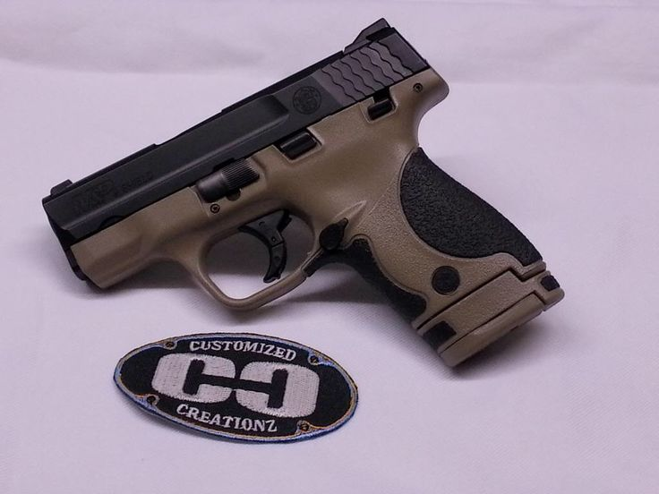 S&W M&P Shield in FDE Find our speedloader now! http://www.amazon.com/shops/raeind