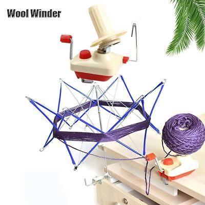 Neueste-tragbar-Handbetriebene-Garn-Wickler-Wolle-Schnuersenkel-Faden-Strang