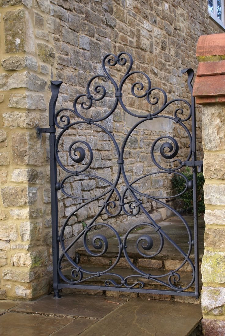 Iron garden gate - Find This Pin And More On Garden Gates
