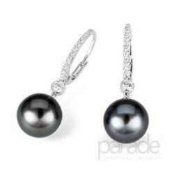 Black Pearl earringsSimple Jewelry, Beautiful Jewellry, Pearl Earrings, Wear Pearls, Favourite Jewelry, Design Wear, Pearls Earrings, Black Pearls