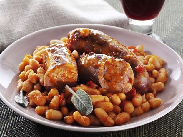 Fagioli e salsicce, una ricetta di Paolo Tizzanini