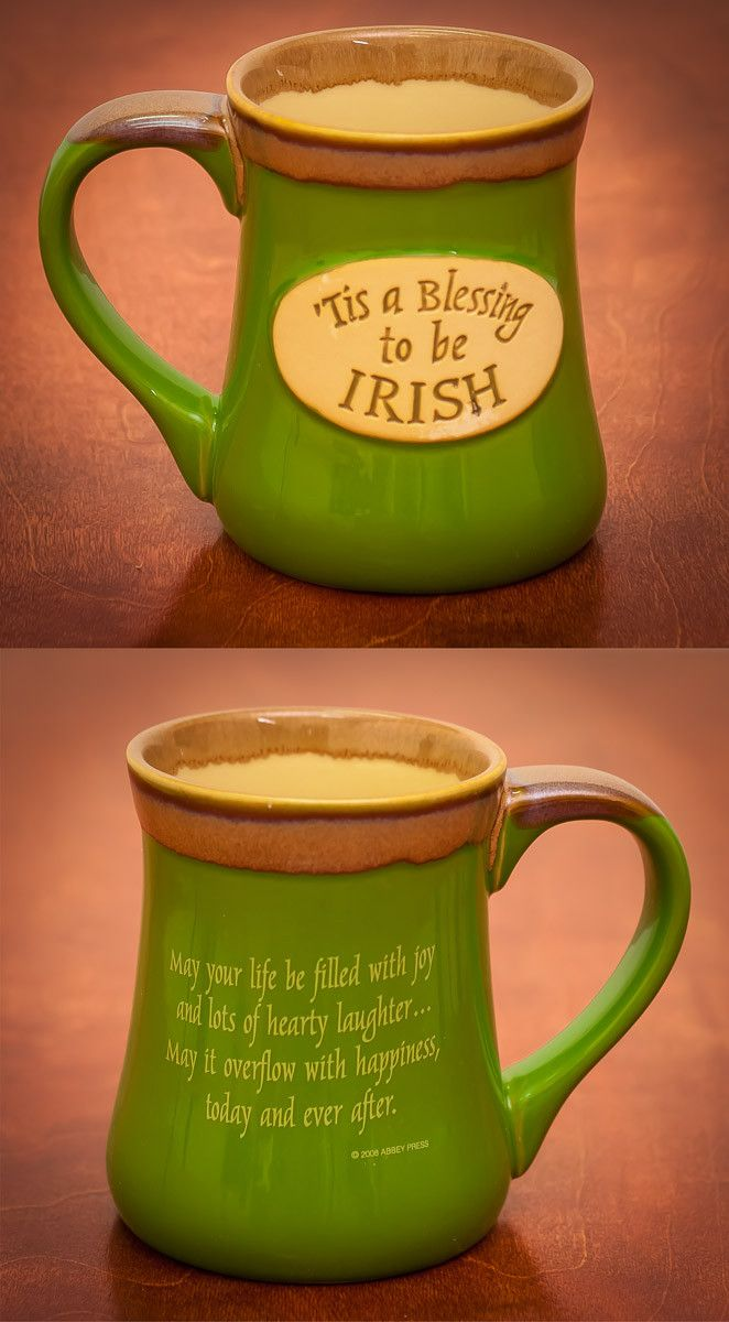 Irish Blessing Mug - 'Tis a Blessing