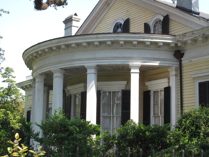8 Best Curved Porches Images On Pinterest Front Porches