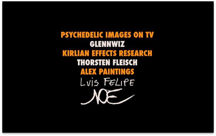 Luis Felipe Noe * Enter the Void Typography