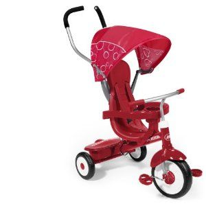 BEST BUY!! Radio Flyer 4-in-1 Trike Red CHEAP