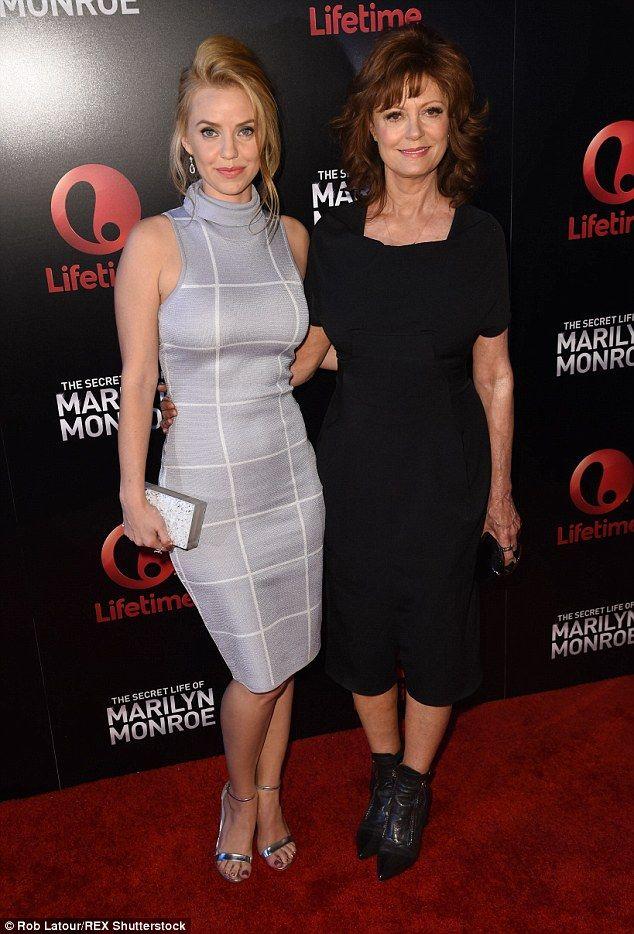 Like mother, like daughter: Susan Sarandon and her on-screen daughter Kelli Garner arrived...