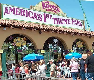 Fun Fact - Knott's Berry Farm, which opened in 1940, is America's oldest theme park. It is only 30 miles from the hotel.  http://www.mybeverlyhillshotel.com/