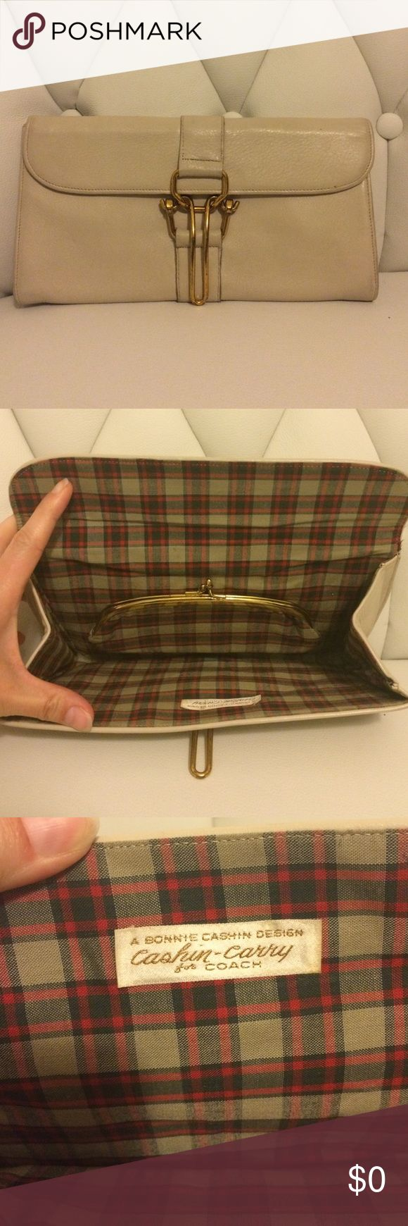Vintage Bonnie Cashin Carry for Coach Clutch Tbd Bonnie Cashin Carry Coach Bags Clutches & Wristlets