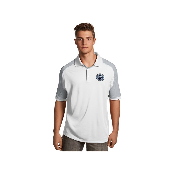 Men's Antigua New York City FC Century Polo, Size: Medium, White