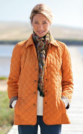 Diamond Quilted Jacket (J. Jill)