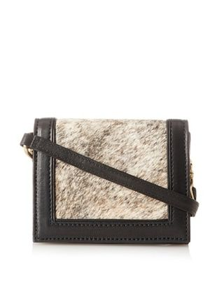 Hare   Hart Women's Mini Clutch with Strap (Brindle)