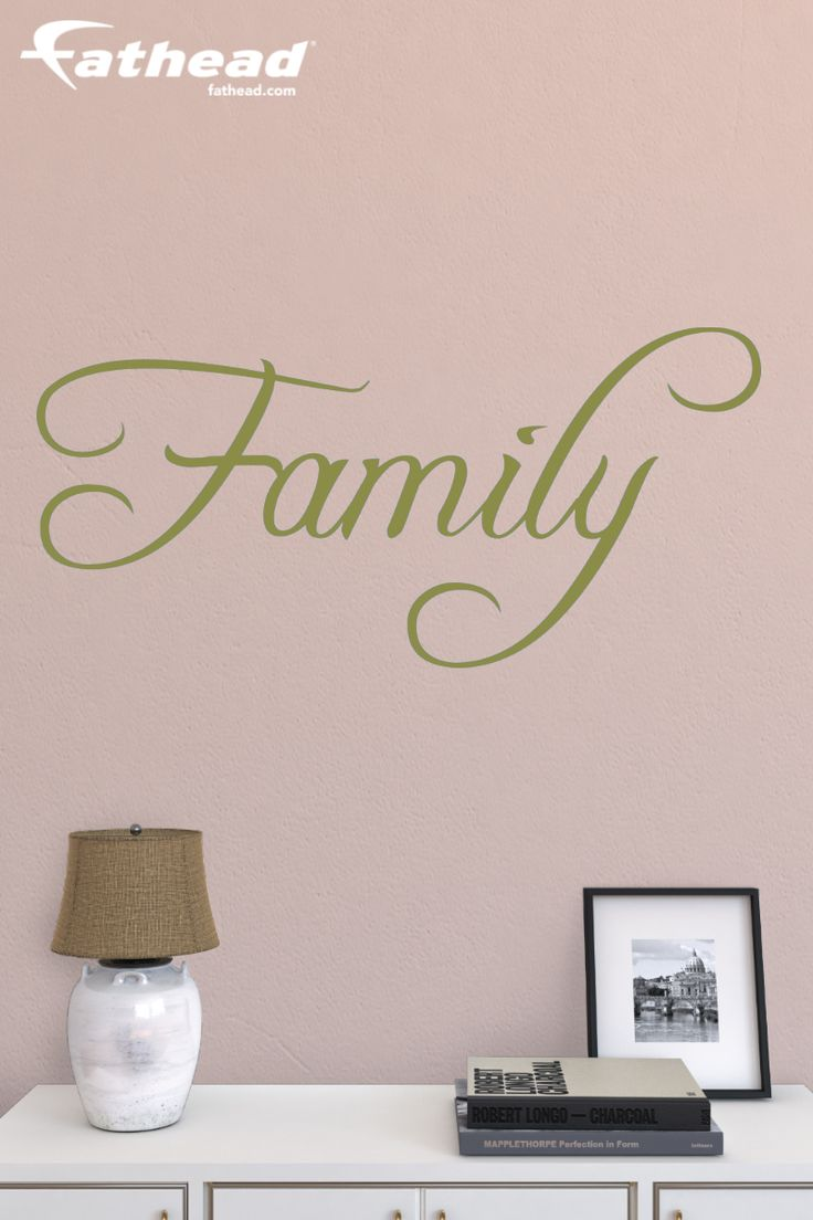 This Family Fathead Rub On Transfer Wall Decal Is Tougher Than Wall Stickers  And Other Cheap